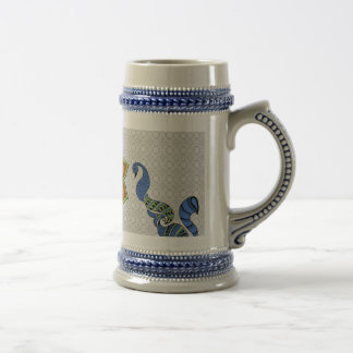 I Love India Beer Stein
