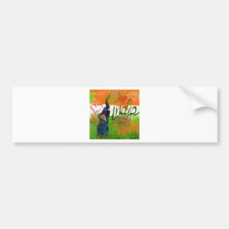 I love India Bumper Sticker