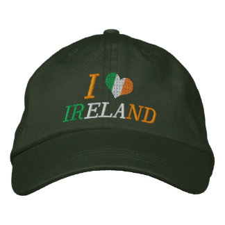 I Love Ireland Embroidered Hat