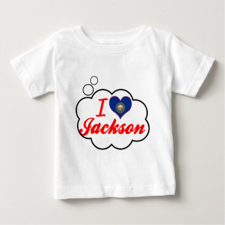 I Love Jackson, New Hampshire Baby T-Shirt