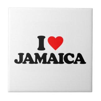 I LOVE JAMAICA CERAMIC TILES