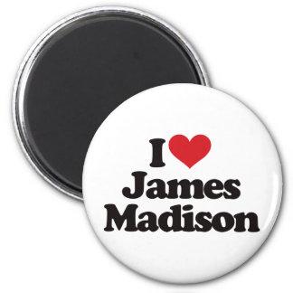 I Love James Madison Magnet