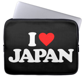 I LOVE JAPAN COMPUTER SLEEVES
