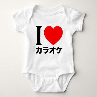 I love karaoke baby bodysuit