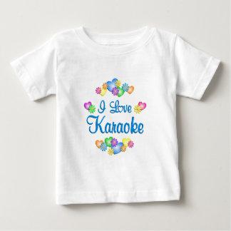 I Love Karaoke Baby T-Shirt