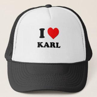 I love Karl Trucker Hat