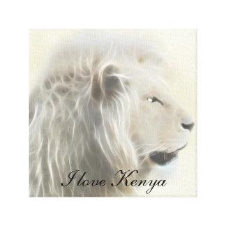 I love Kenya Africa Canvas Print