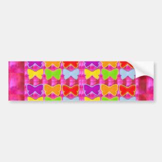 I love KIDS,  Kids love BUTTERFLIES Bumper Stickers