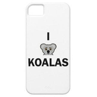 I Love Koalas Phone Case