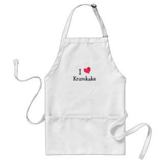 I Love Krumkake Standard Apron