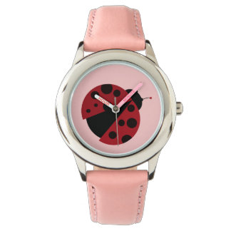 i love ladybugs watch