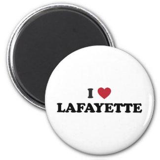 I Love Lafayette Louisiana Magnet