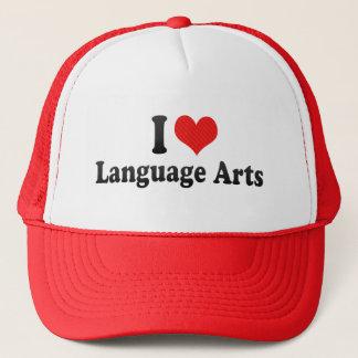 I Love Language Arts Trucker Hat