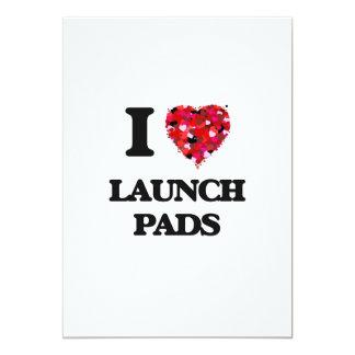 I Love Launch Pads 13 Cm X 18 Cm Invitation Card