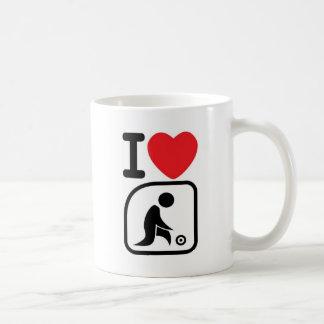 I love lawn bowls coffee mug