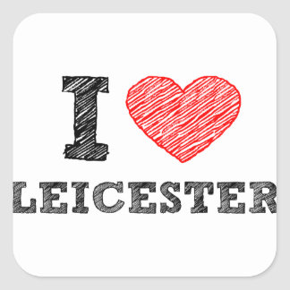 I-love-Leicester Square Sticker