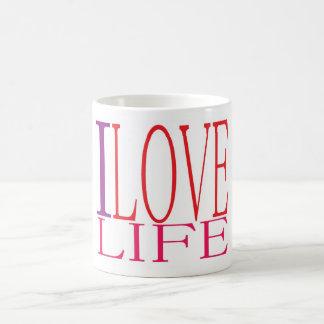 I love life mug! basic white mug