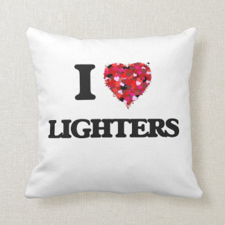 I Love Lighters Throw Cushions