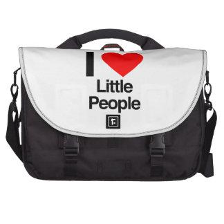 i love little people laptop computer bag