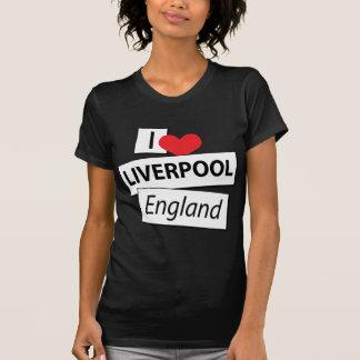 I Love Liverpool England T-shirts