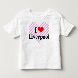 I Love Liverpool, United Kingdom T-shirts