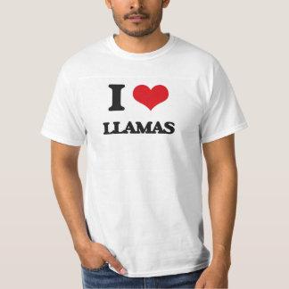 I love Llamas Tees