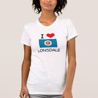 I Love Lonsdale Minnesota T-shirt