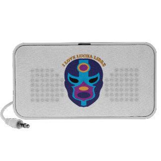 I Love Lucha Libre PC Speakers