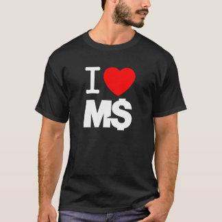I Love M$ (dark) T-Shirt