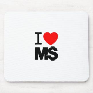 I Love M$ (light) Mouse Pad
