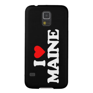 I LOVE MAINE CASES FOR GALAXY S5