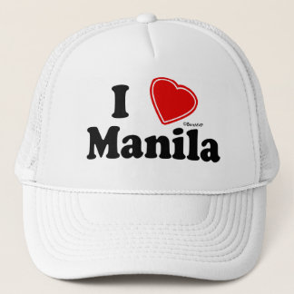 I Love Manila Trucker Hat