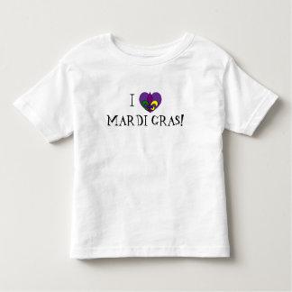 I love Mardi Gras toddler Toddler T-Shirt