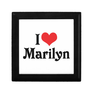 I Love Marilyn Gift Box
