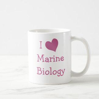I Love Marine Biology Coffee Mug