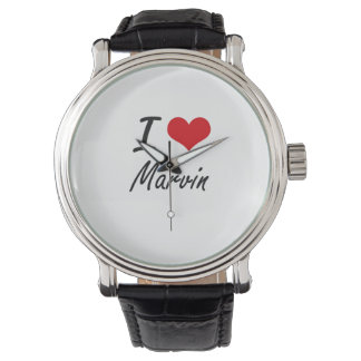 I Love Marvin Watches