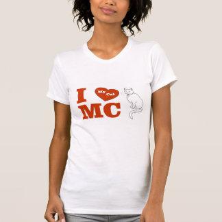 I Love MC  My Cat T-Shirt