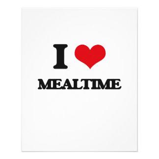 I Love Mealtime Flyer