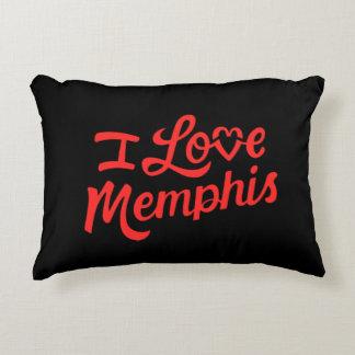 I Love Memphis Decorative Cushion
