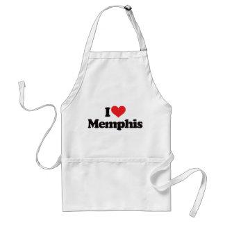 I Love Memphis Standard Apron