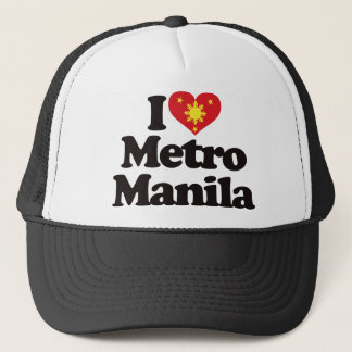 I Love Metro Manila Trucker Hat