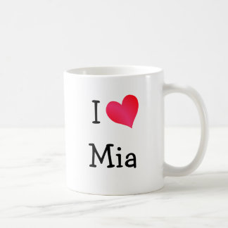 I Love Mia Coffee Mug