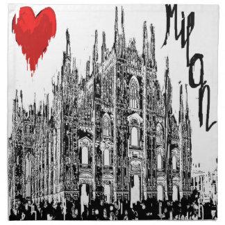 I love Milan Napkin