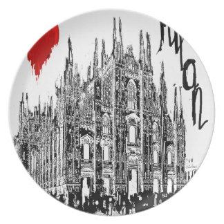 I love Milan Plate