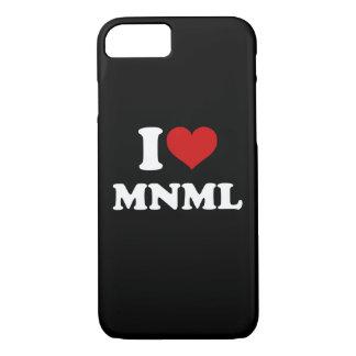 I Love Minimal iPhone 8/7 Case
