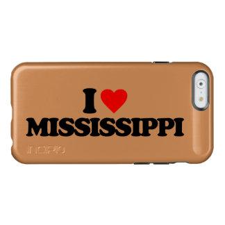I LOVE MISSISSIPPI INCIPIO FEATHER® SHINE iPhone 6 CASE