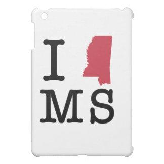 I Love Mississippi iPad Mini Cases