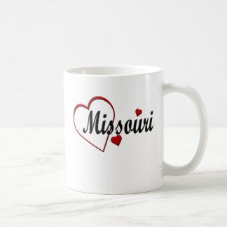 I Love Missouri Hearts Mugs