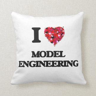 I Love Model Engineering Throw Cushions
