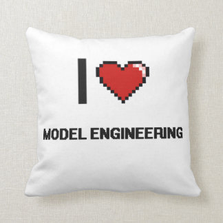 I Love Model Engineering Digital Retro Design Cushions